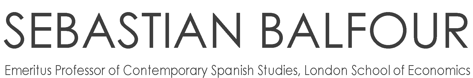 Sebastian Balfour | Emeritus Professor Contemporary Spanish Studies Logo